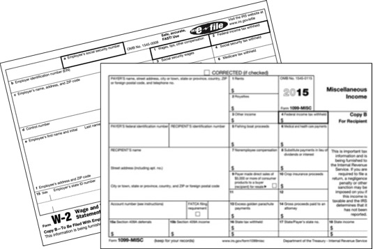 Time to Submit W-2 and 1099 Forms - WhitneySmith Company