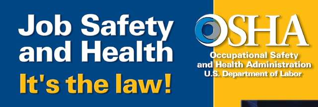 department of occupational safety and h Learn the 5 main categories of hazards that are the most frequent causes of workplace injuries, occupational diseases, and death find short video training to support workplace safety and health goals.